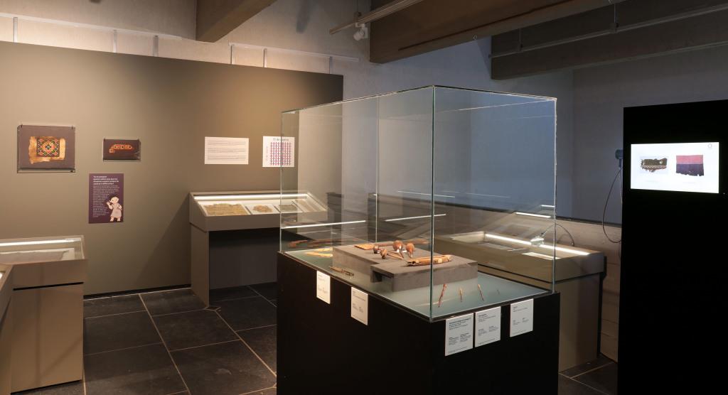 Exposition De lin et de laine, Musée Royal de Mariemont, Belgique (3)