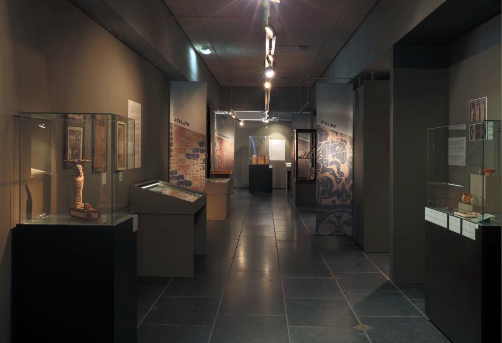Exposition De lin et de laine, Musée Royal de Mariemont, Belgique (4)