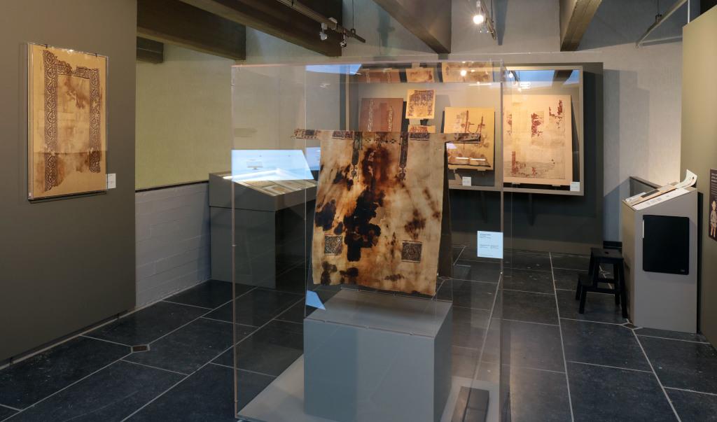 Exposition De lin et de laine, Musée Royal de Mariemont, Belgique (6)