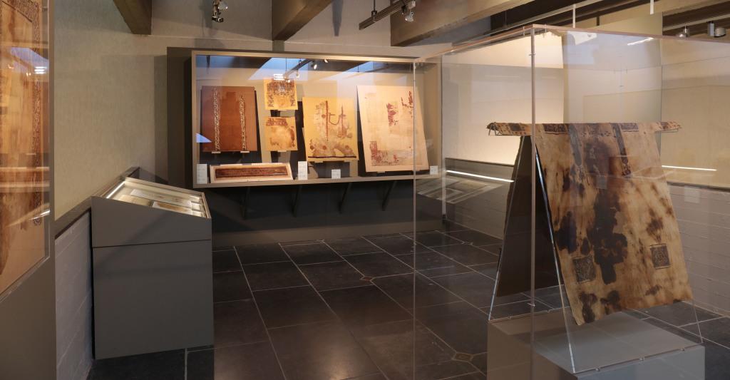 Exposition De lin et de laine, Musée Royal de Mariemont, Belgique (7)
