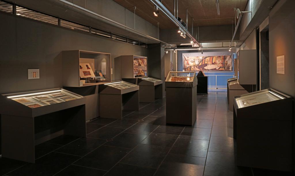 Exposition De lin et de laine, Musée Royal de Mariemont, Belgique (8)