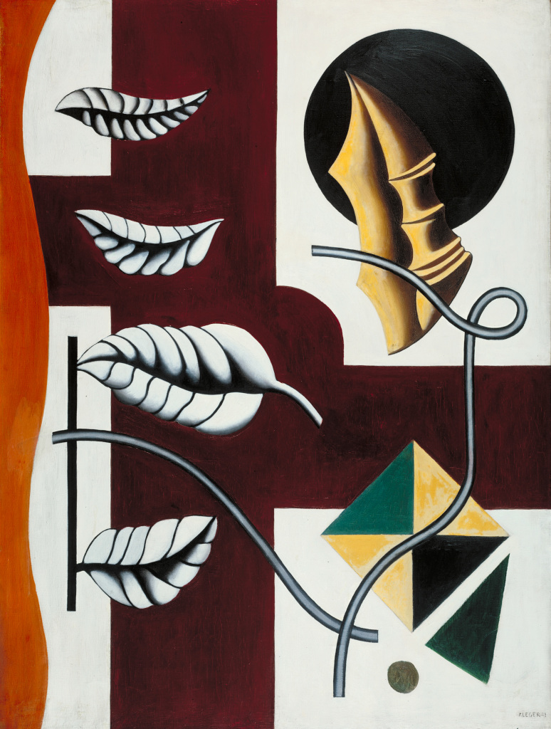 Fernand Léger, Leaves and Shell (Feuilles et coquillage) 1927