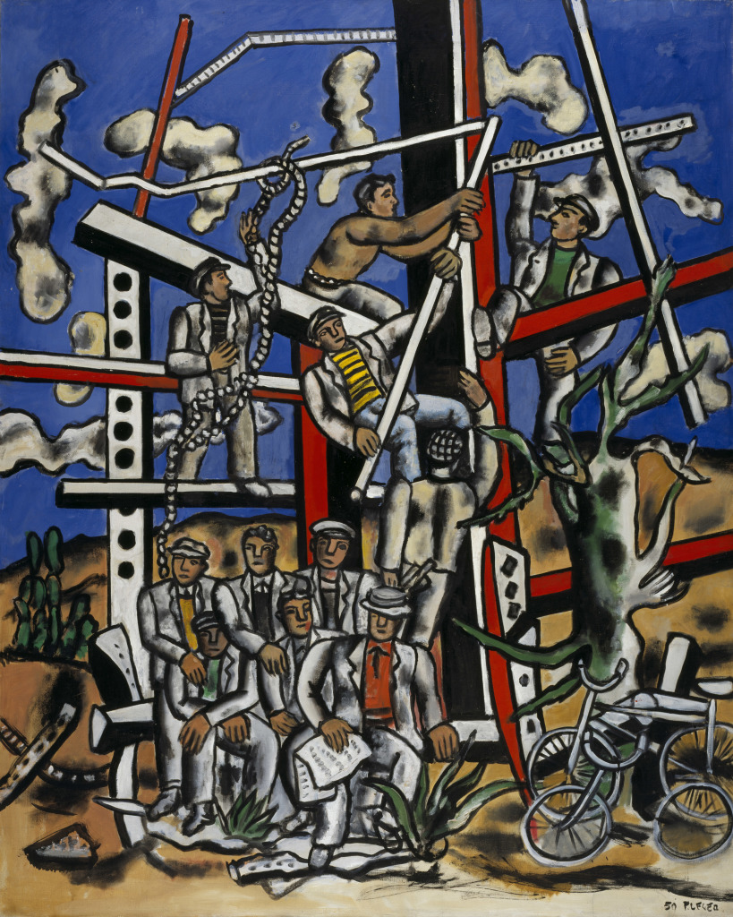 Fernand Léger, Study for 'The Constructors' The Team at Rest 1950