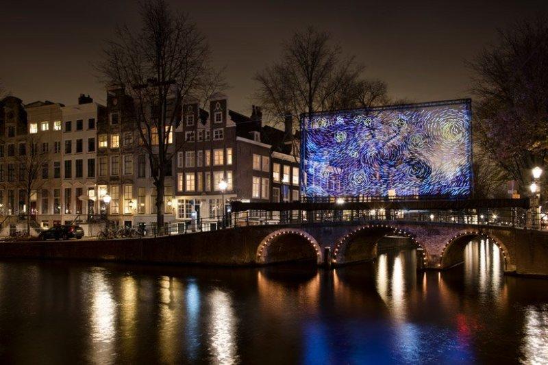 Festival des Lumières d'Amsterdam 3