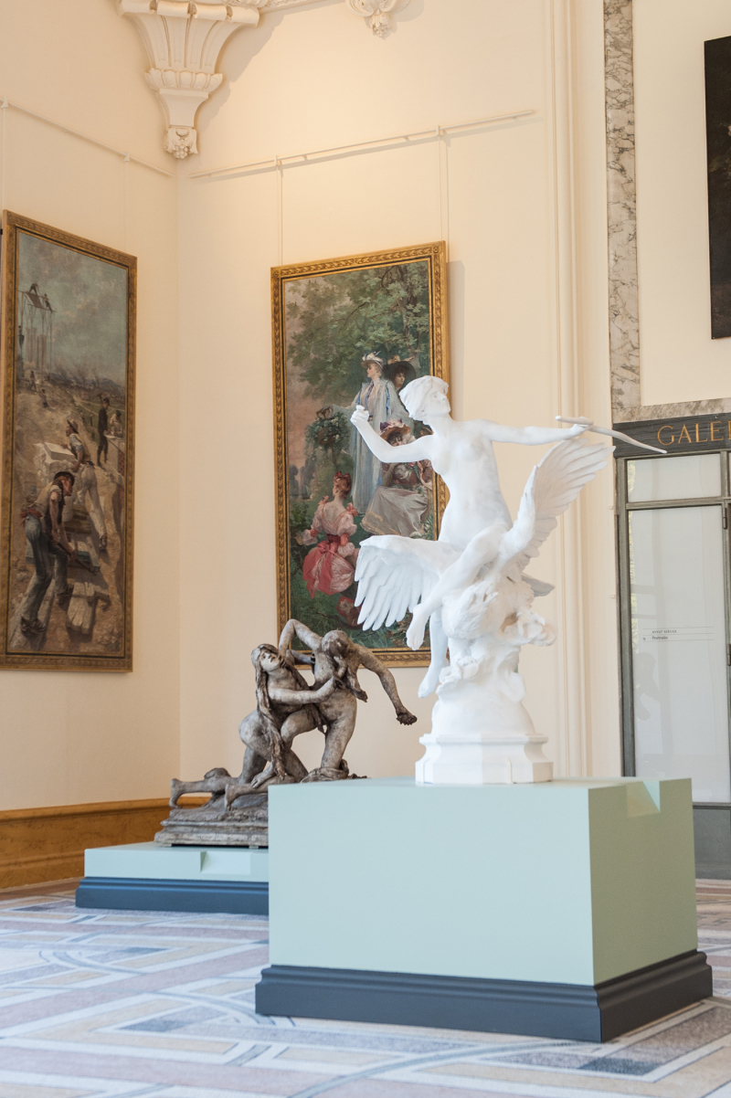 Galerie des sculptures, petit Palais.