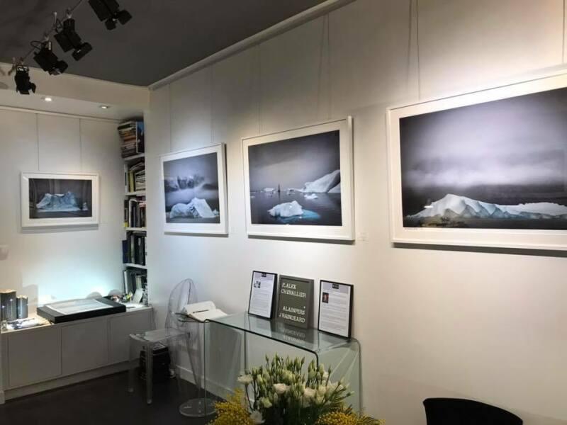 Galerie HEGOA Paris, expo Memoires de Glaces - RDC droit
