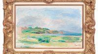 Golfe, Mer, Falaises Vertes (1865), Renoir © Tous droits réservés