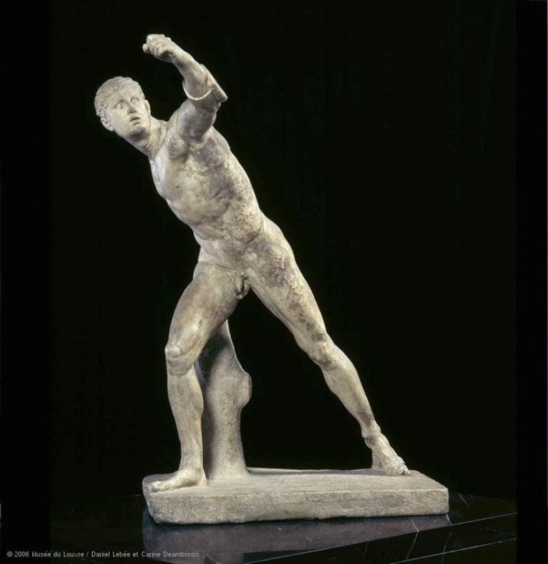 Guerrier combattant © 2006 Musée du Louvre Daniel Lebée et Carine Deambrosis