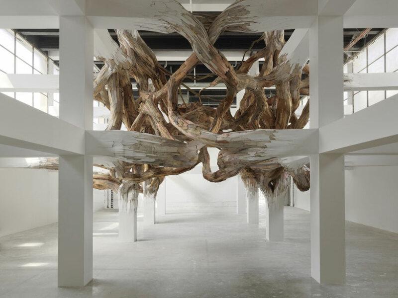 Henrique Oliveira, Baitogogo © Palais de Tokyo