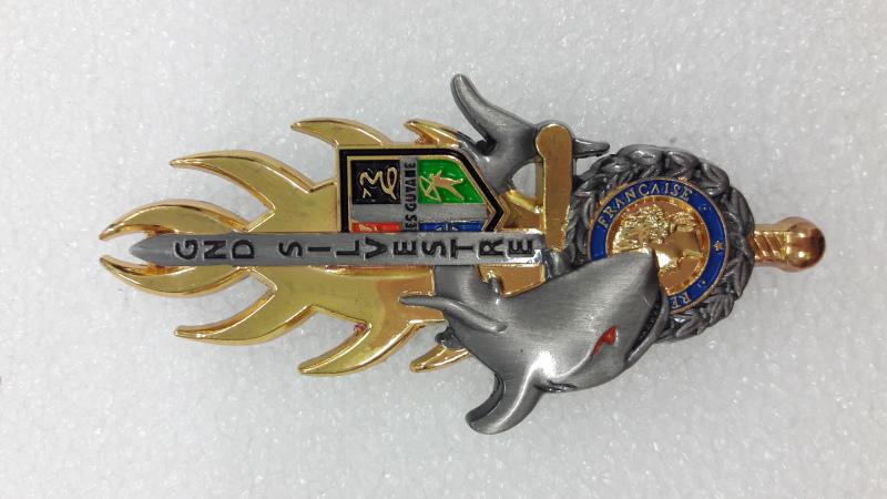 Insigne de la 46è promotion ESOG