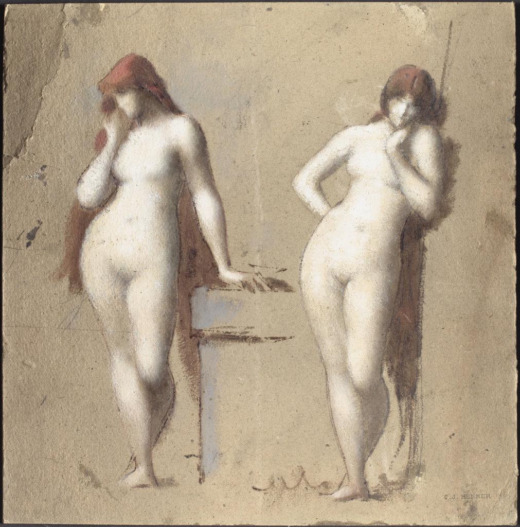 Jean-Jacques Henner, Figures féminines, entre 1872 et 1879