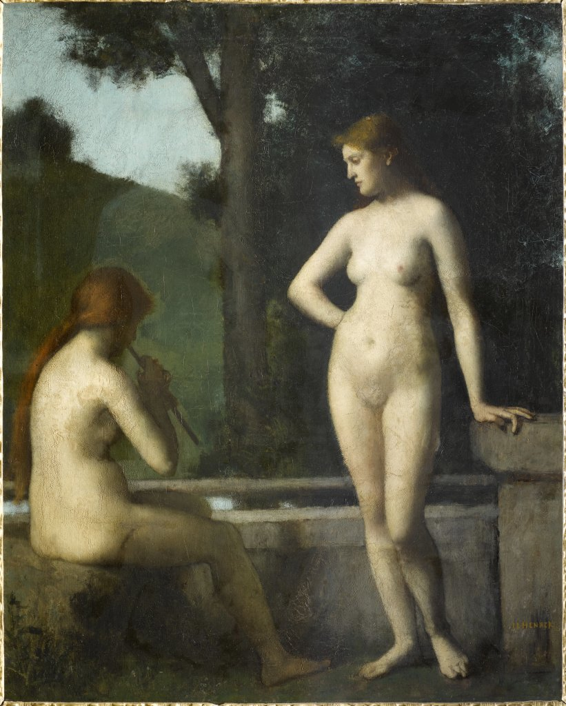 Jean-Jacques Henner, Idylle, 1872