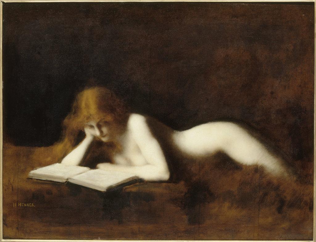 Jean-Jacques Henner, La Liseuse, 1883