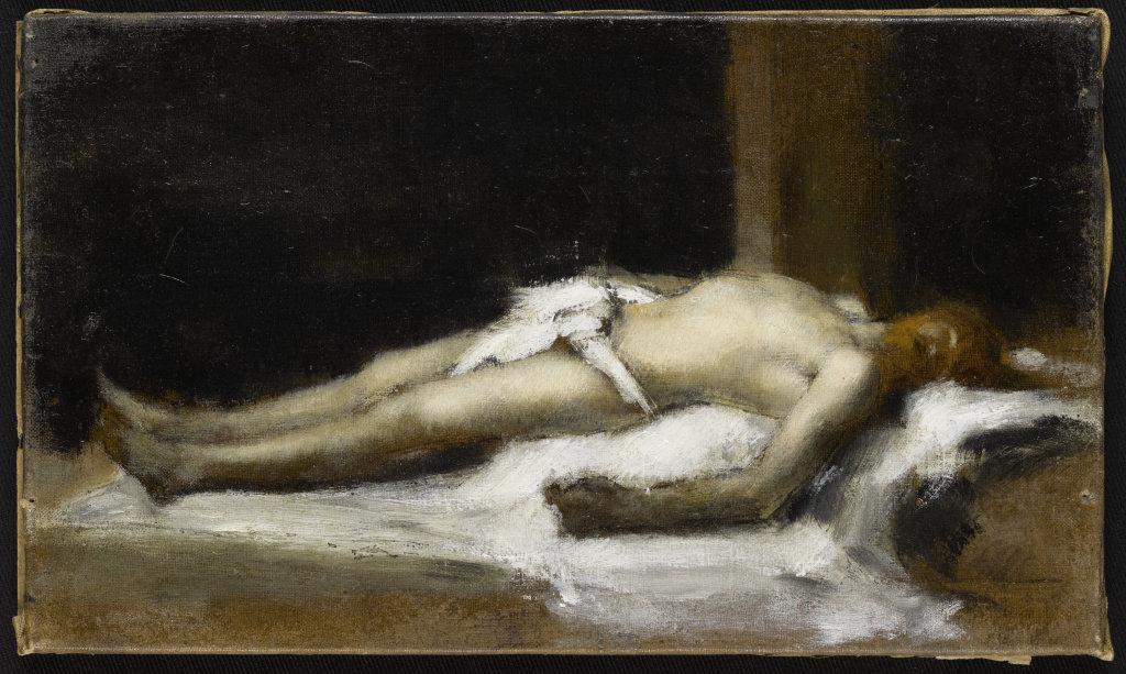 Jean-Jacques Henner, Le Christ au linceul, 1896