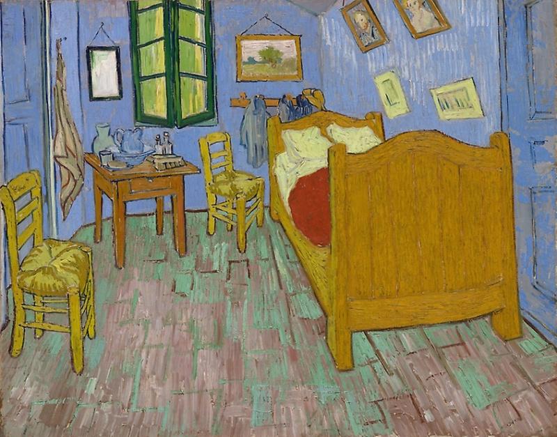 La chambre, 1889, Vincent Van Gogh © Chicago Art Institute