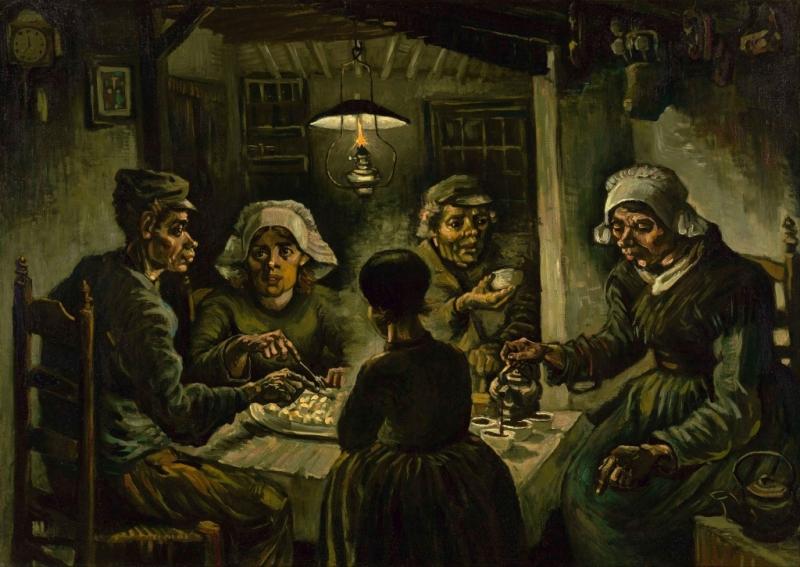 Les Mangeurs de pommes de terre