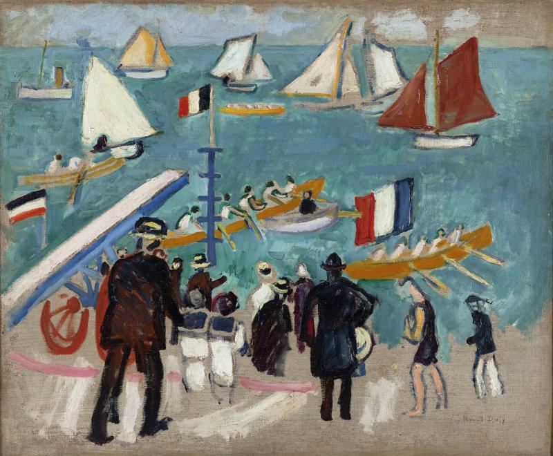 Dufy, Les régates, 1907