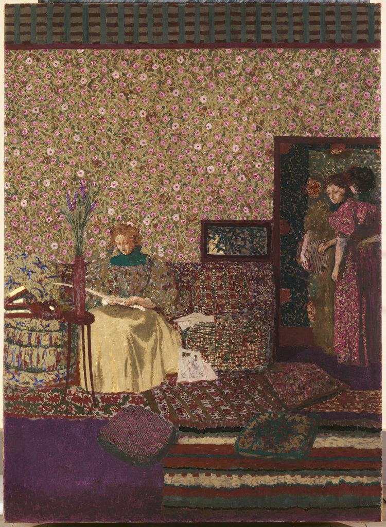 Edouard Vuillard, Personnages dans un intérieur : l'intimité, 1896