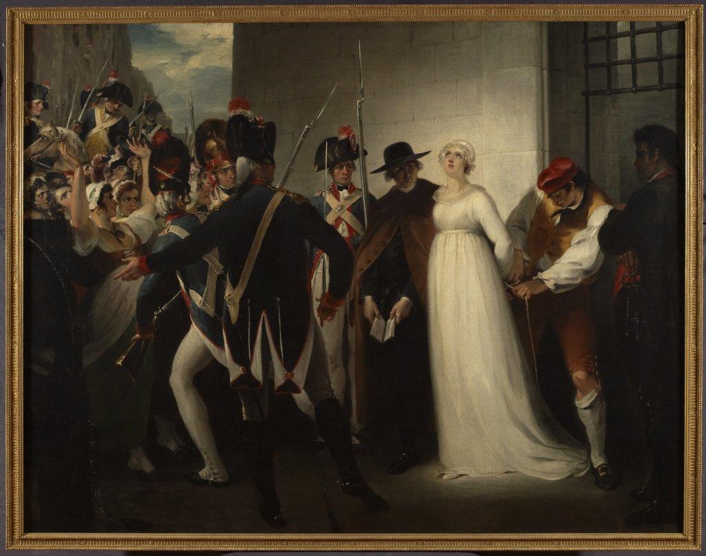 Marie-Antoinette quittant la Conciergerie, le 16 octobre 1793.
