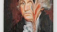 Melted George Washington 3 © Valerie Hegarty