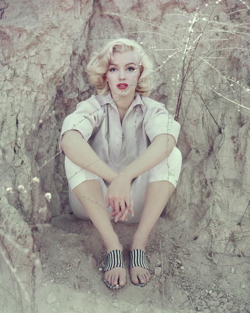 Marilyn Monroe, The Rock Sitting, Los Angeles, 1953
