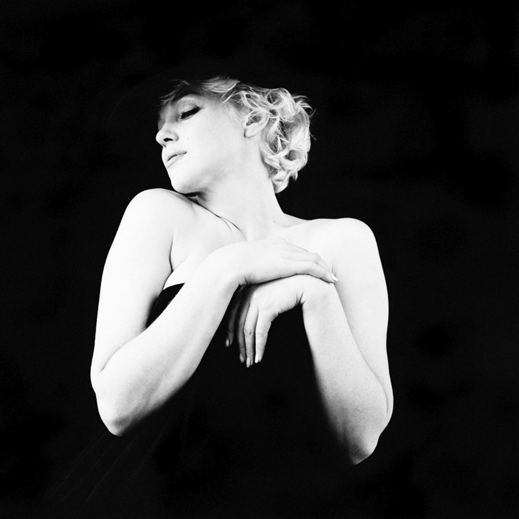 Marilyn Monroe, The Black Sitting, New York, 1956