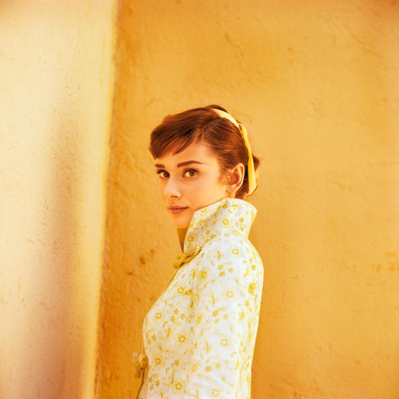 Audrey Hepburn, Rome, 1955