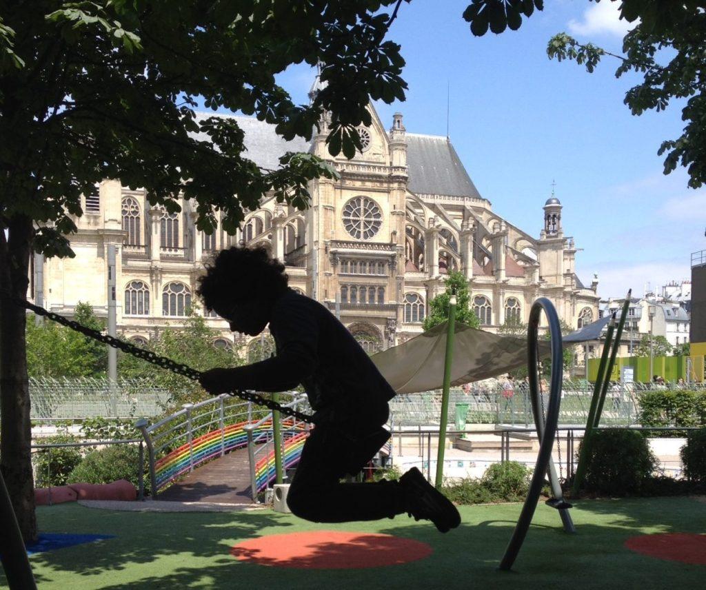 Playground des Halles, Paris