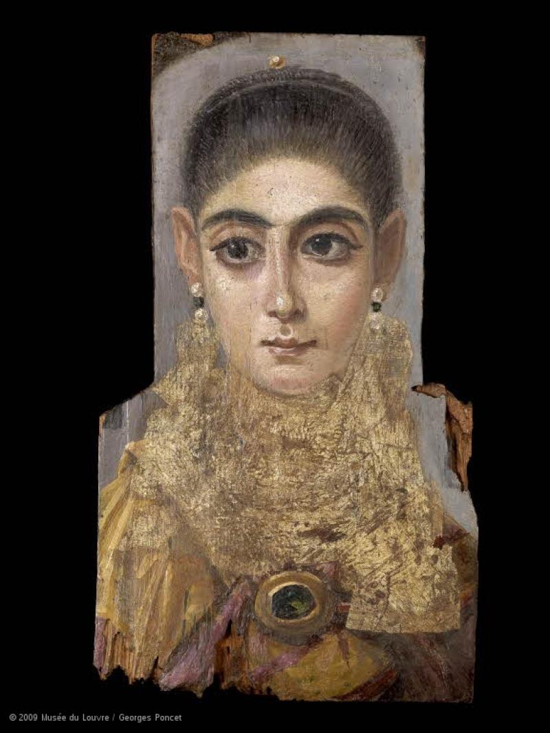 Portrait de femme dite L'Européenne © 2009 Musée du Louvre Georges Poncet