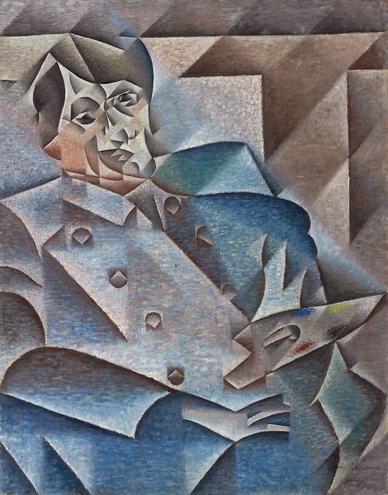 Portrait de Pablo Picasso, Juan Gris © Chicago Art Institute