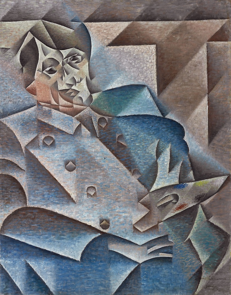 Portrait de Pablo Picasso, Juan Gris © Chicago Art Institute