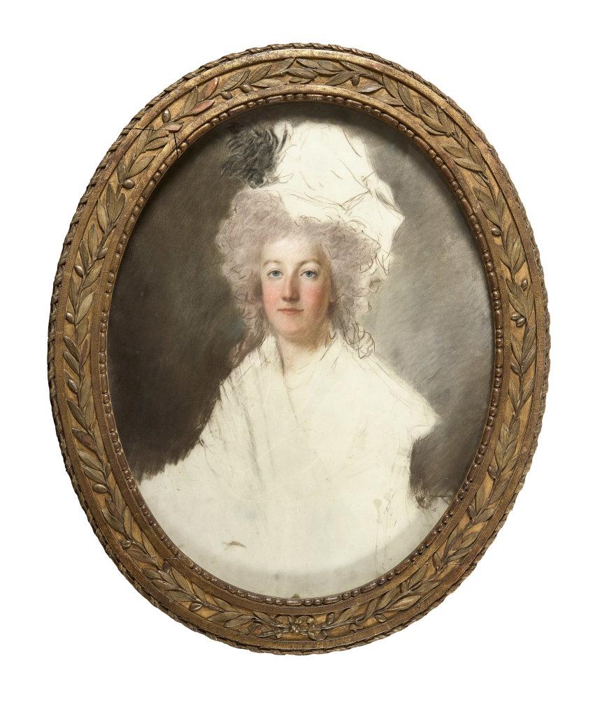 Portrait en buste de la reine Marie-Antoinette, Alexandre Kucharski © Château de Versailles, Dist. RMN - Christophe Fouin
