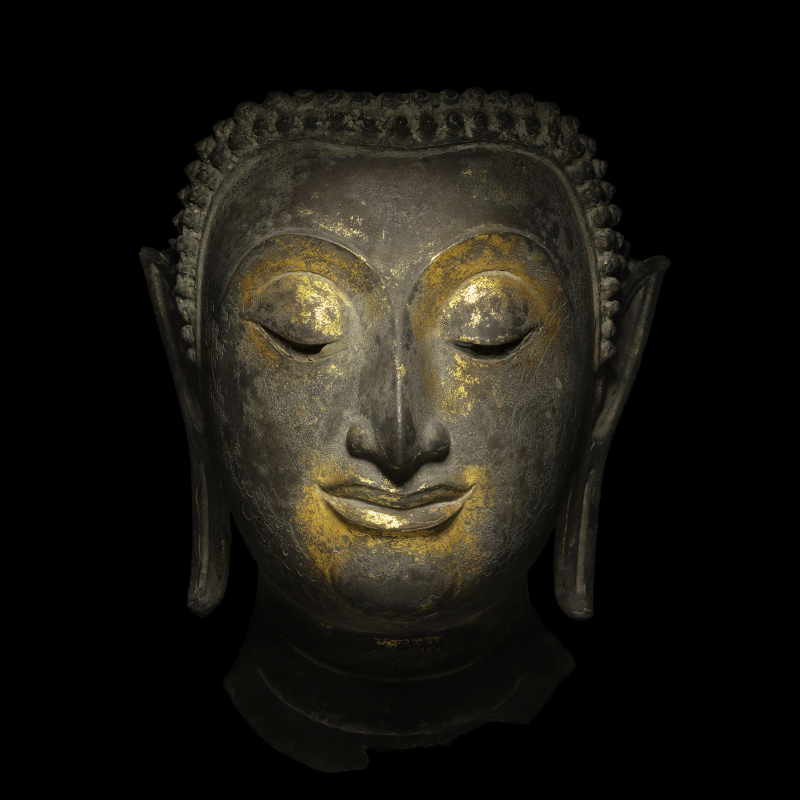 Jean-Baptiste Huynh, Tête de Buddha, 2017