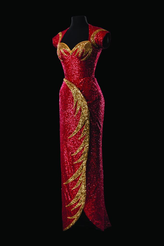 Costume d'Alejo Vietti pour le rôle de Lila Dixon dans Holiday Inn. Comédie musicale mise en scène par Gordon Greenberg, production de Roundabout Theatre Company, New York, 2016.