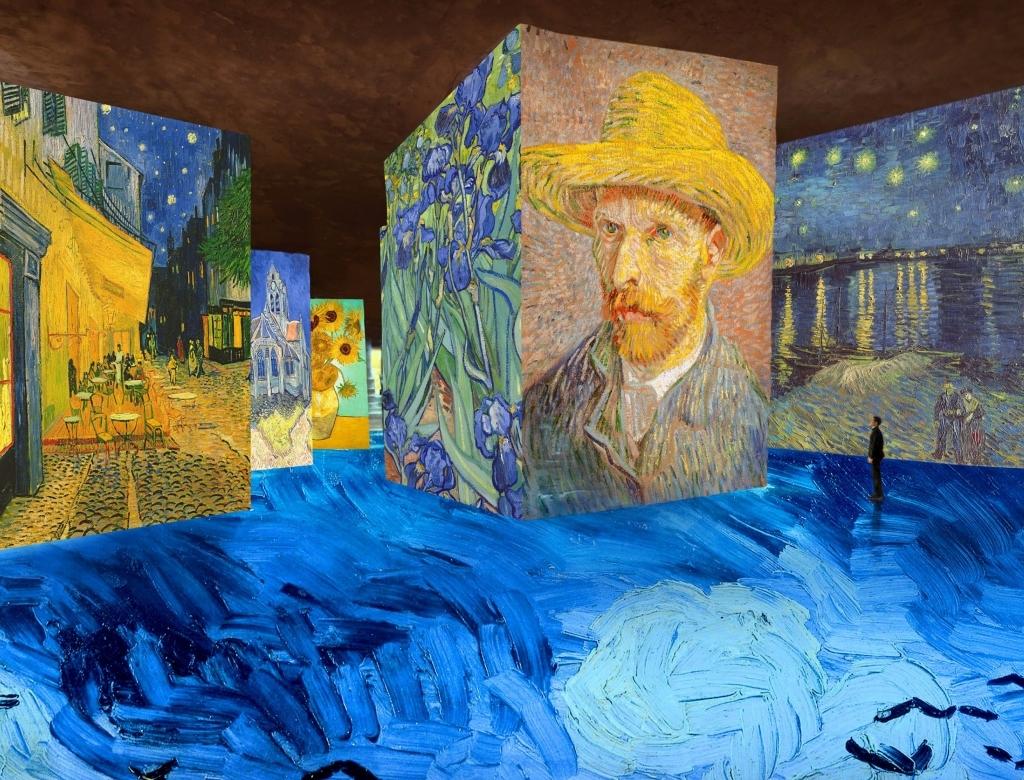 Simulation exposition Van Gogh, la nuit étoilée (1)