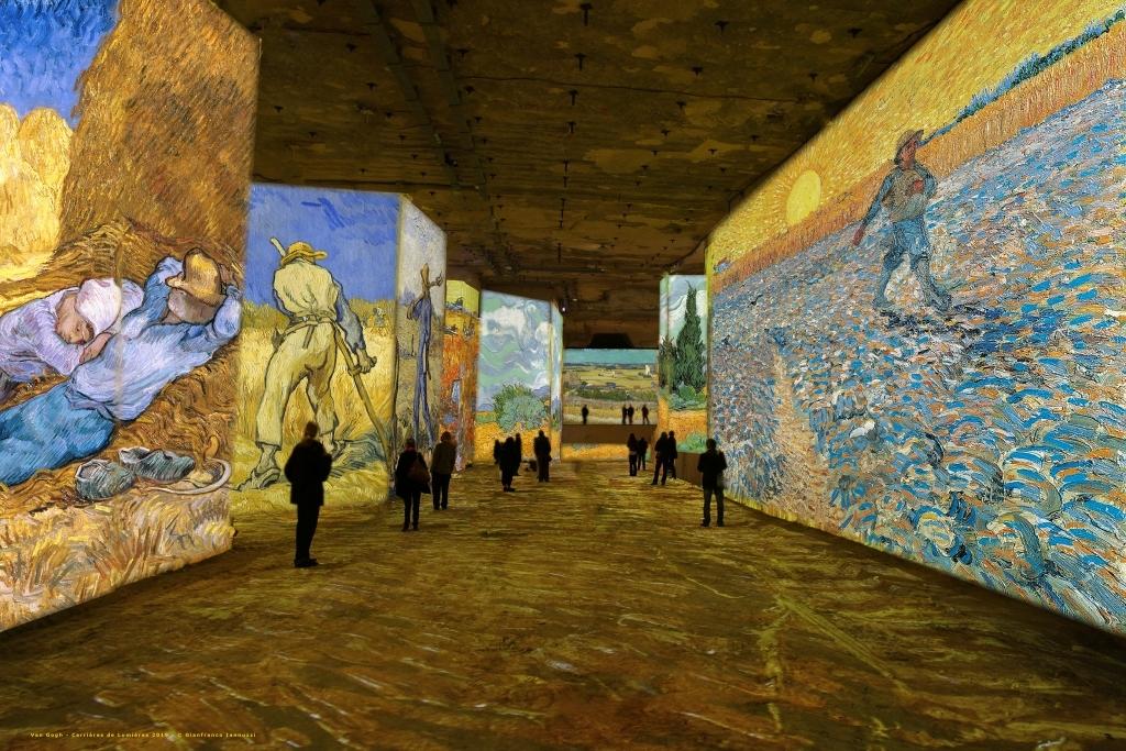Simulation exposition Van Gogh, la nuit étoilée (4)