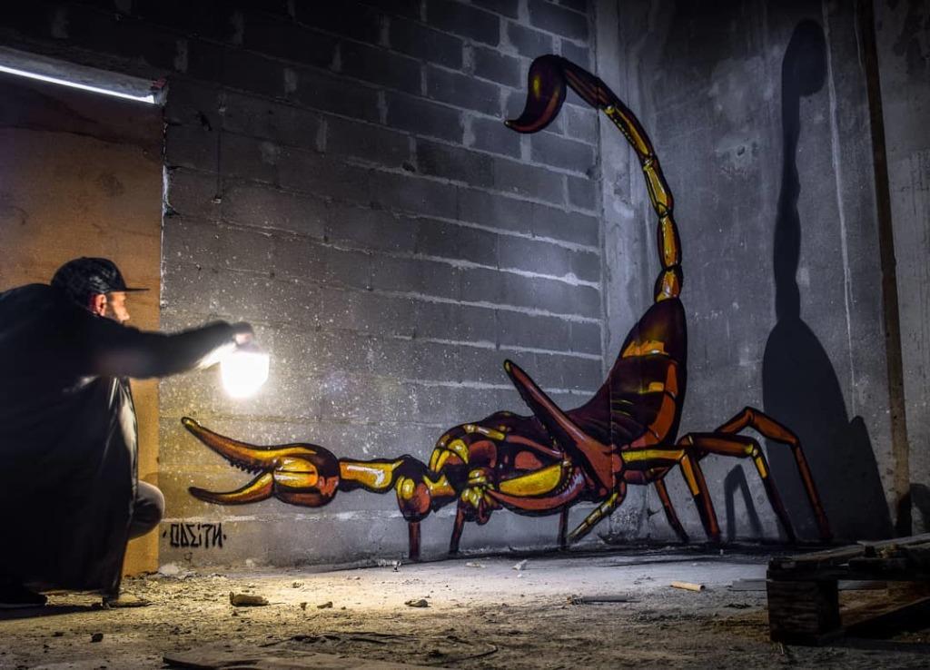 Scorpion d'Odeith