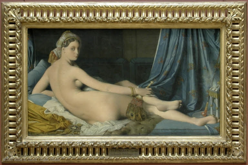 Une Odalisque © 2005 Musée du Louvre Angèle Dequie