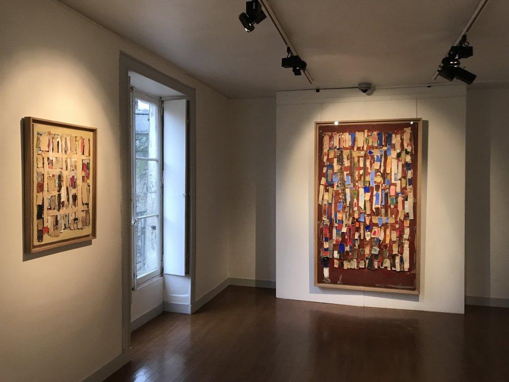 Vue de l'exposition Coulon, Maison des Arts de Châtillon, Châtillon (22)