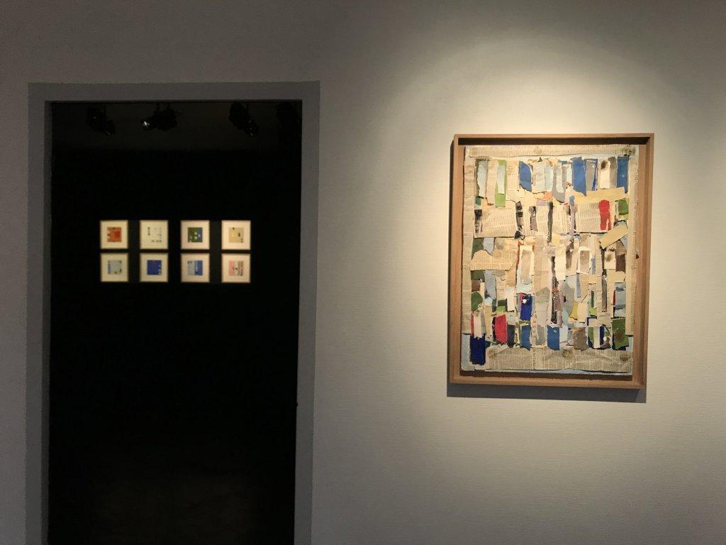 Vue de l'exposition Coulon, Maison des Arts de Châtillon, Châtillon (25)