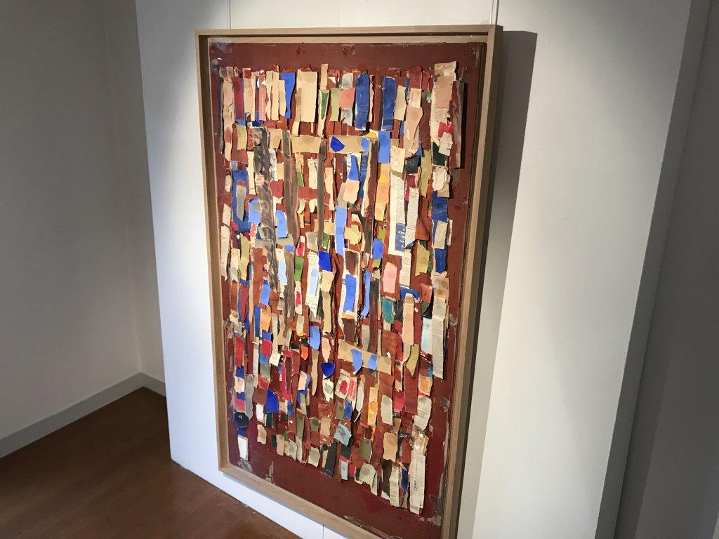 Vue de l'exposition Coulon, Maison des Arts de Châtillon, Châtillon (29)