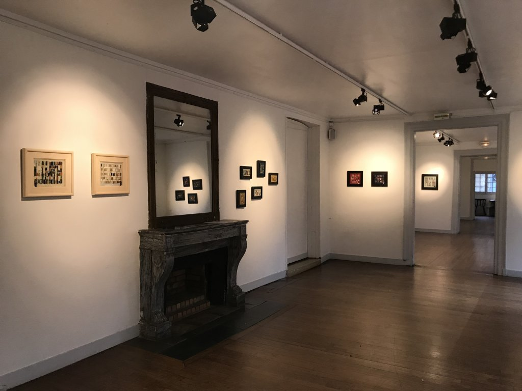 Vue de l'exposition Coulon, Maison des Arts de Châtillon, Châtillon (36)
