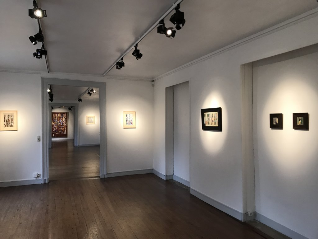 Vue de l'exposition Coulon, Maison des Arts de Châtillon, Châtillon (52)