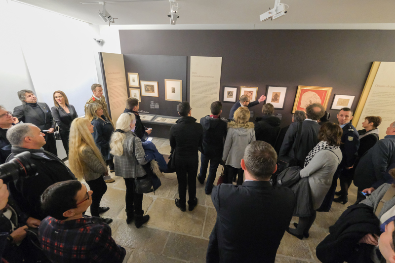 photo jack varlet -  inauguration expo courbet et atelier Ornans - fev 2019 -