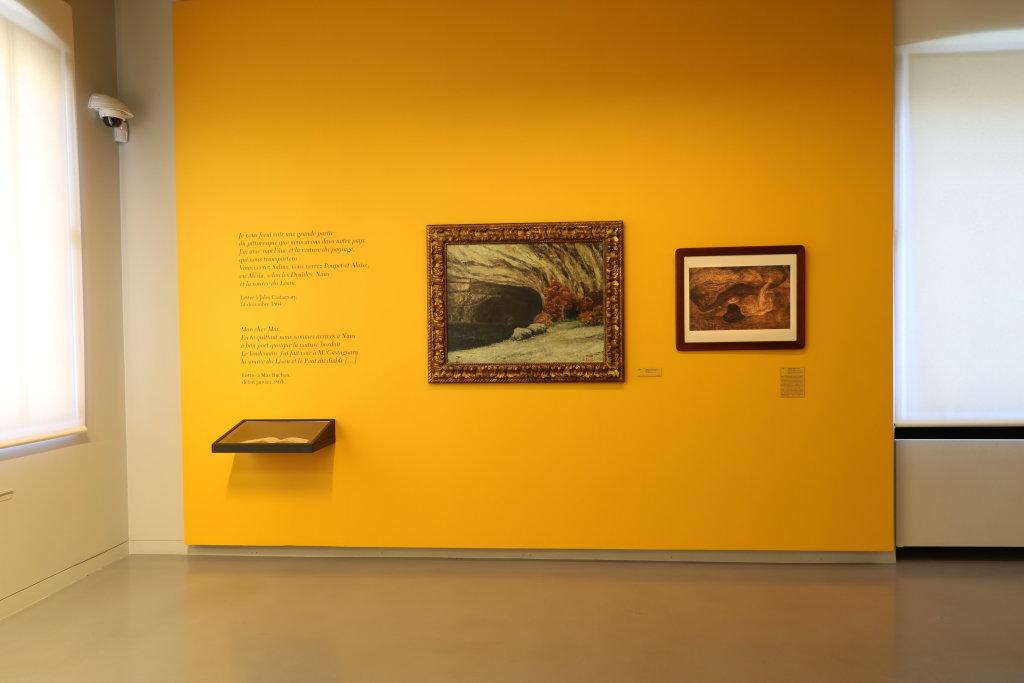 Vue de l'exposition Courbet Dessinateur, Musée Courbet, Ornans, France © Y. Petit (33)