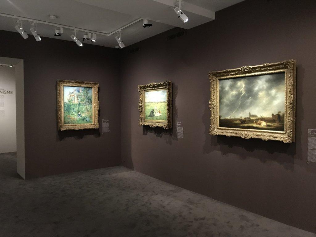 Vue de l'exposition de la Collection Bührle, Musée Maillol, Paris (2)