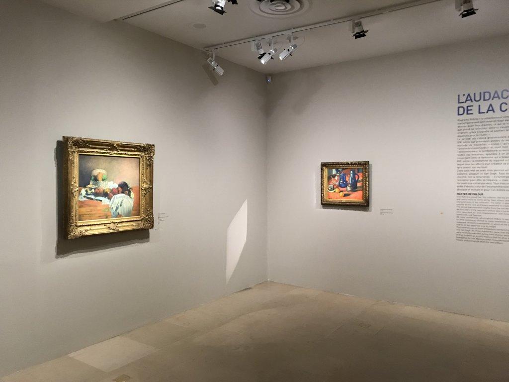 Vue de l'exposition de la Collection Bührle, Musée Maillol, Paris (64)