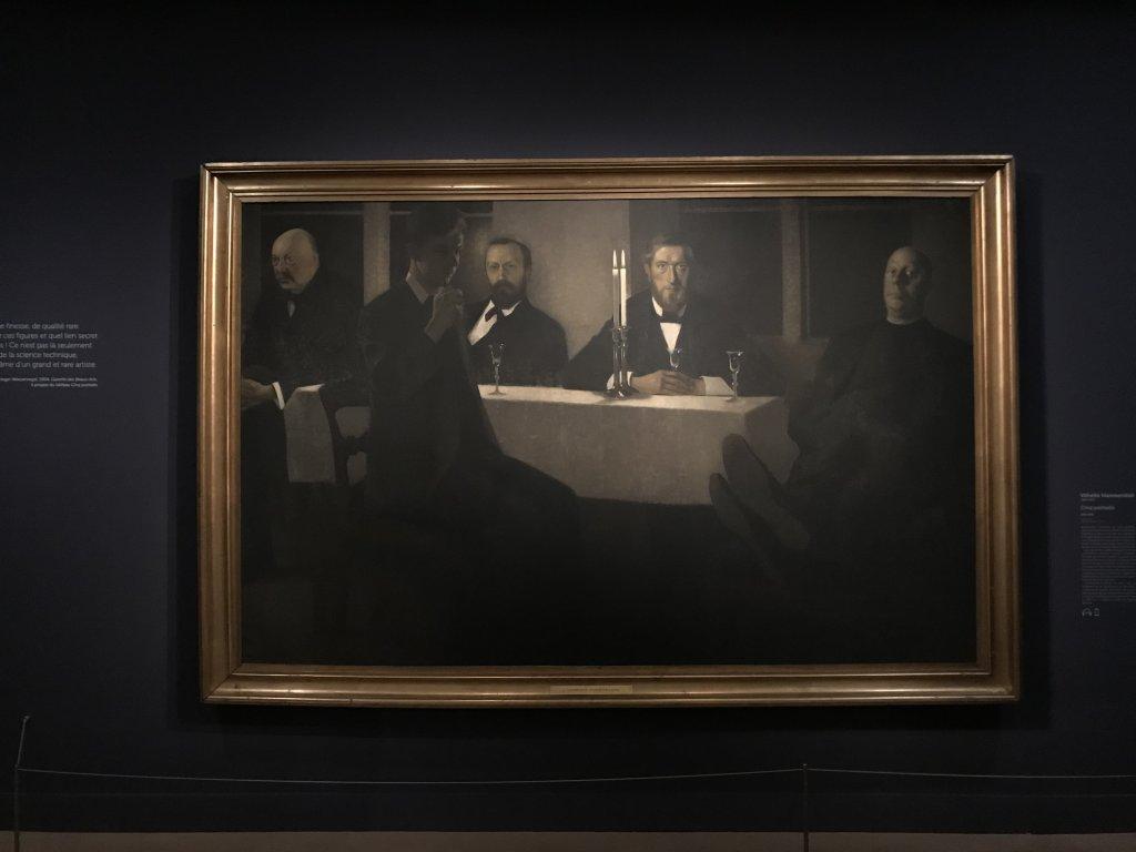 Vue de l'exposition Hammershoi, Musée Jacquemart-André, Paris (1)