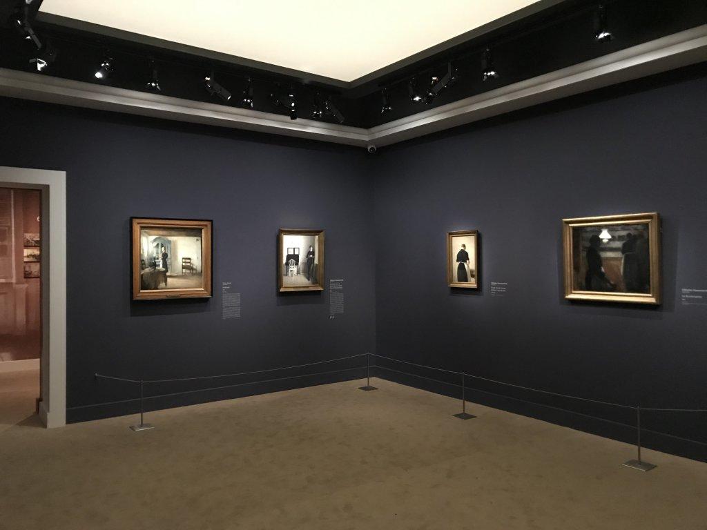 Vue de l'exposition Hammershoi, Musée Jacquemart-André, Paris (13)