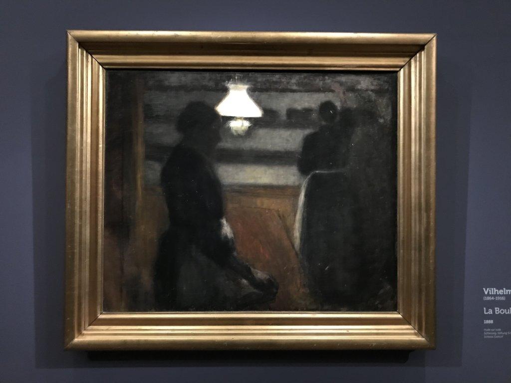 Vue de l'exposition Hammershoi, Musée Jacquemart-André, Paris (14)